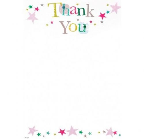 10 Thank You Hanging Packs Stars